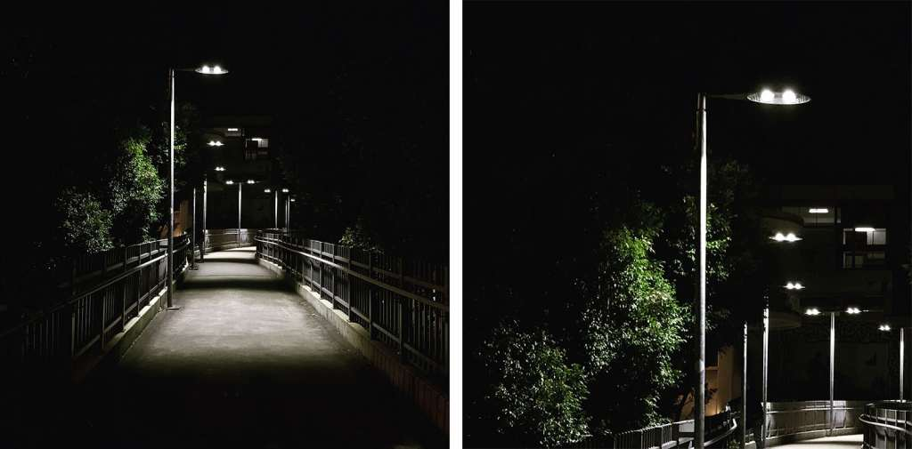 An image shot with Lightroom's DNG. Look at those blacks. Full image on the left, 100 percent crop on the right.