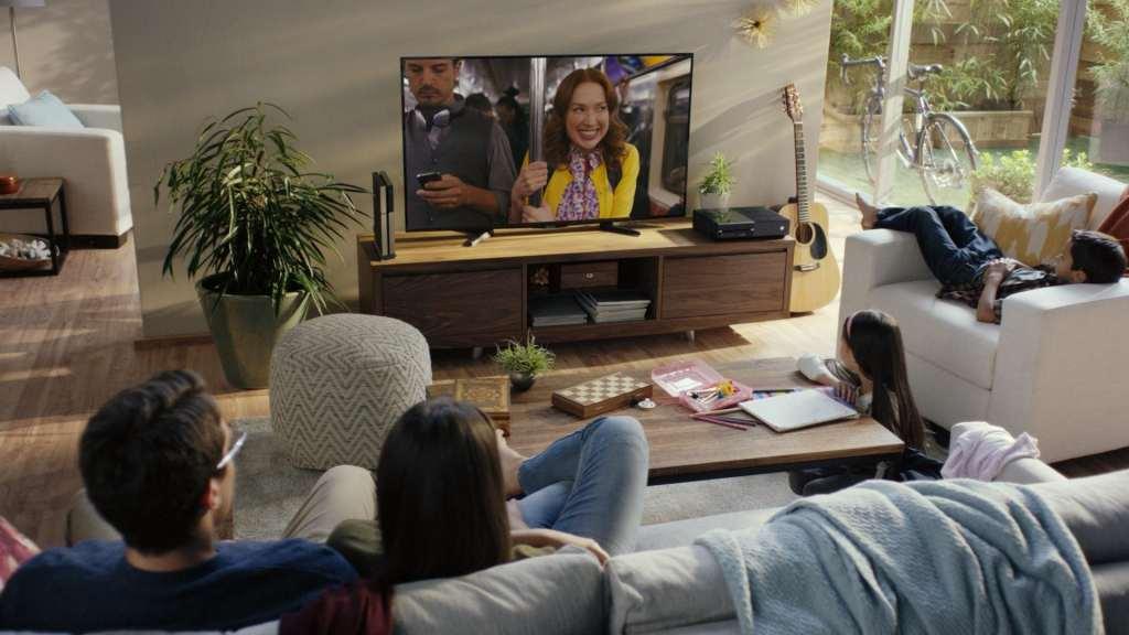 Netflix at home