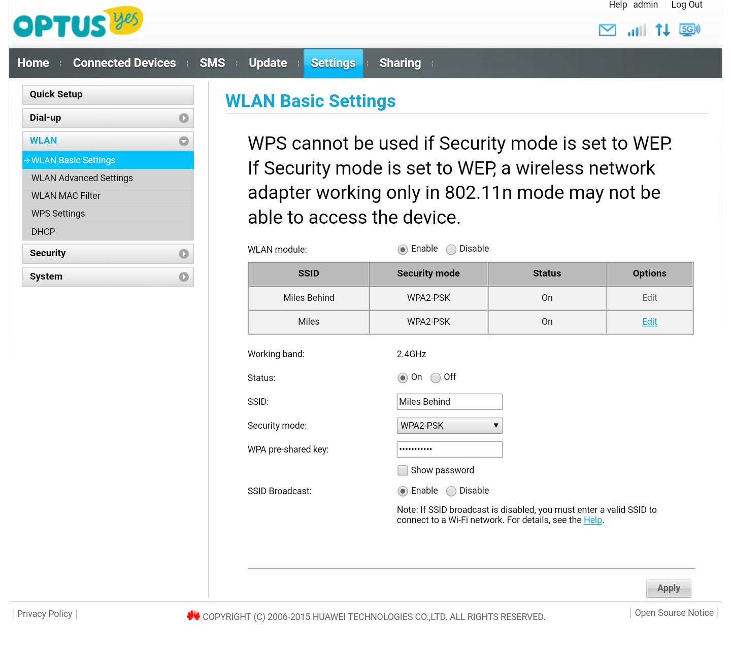 Review: Optus Home Wireless Broadband
