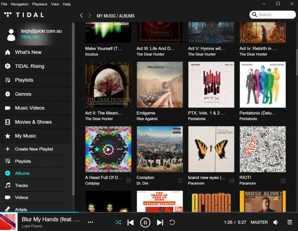 Review: Tidal HiFi master quality audio – Pickr