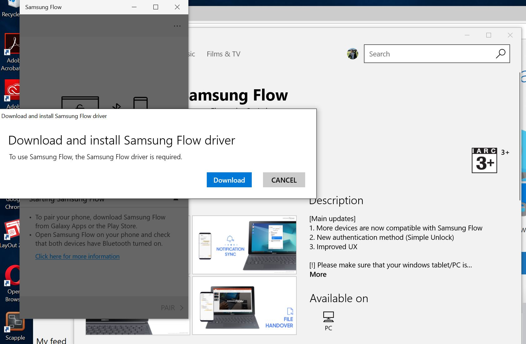 Windows Hello comes to more PCs if you own a Samsung phone