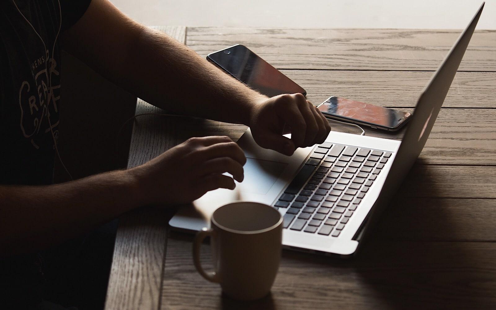 Computer, emails, smartphones, iPhones