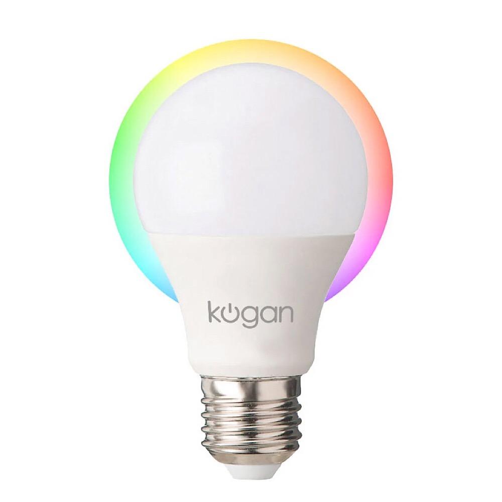 Kogan 2018 smart home additions, with lightbulbs