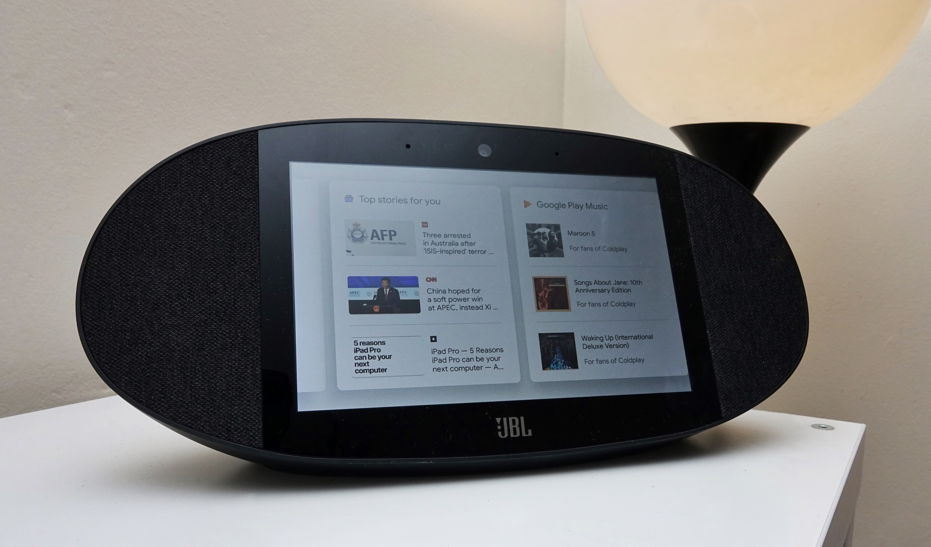 Review: JBL Link View (2018) – Pickr