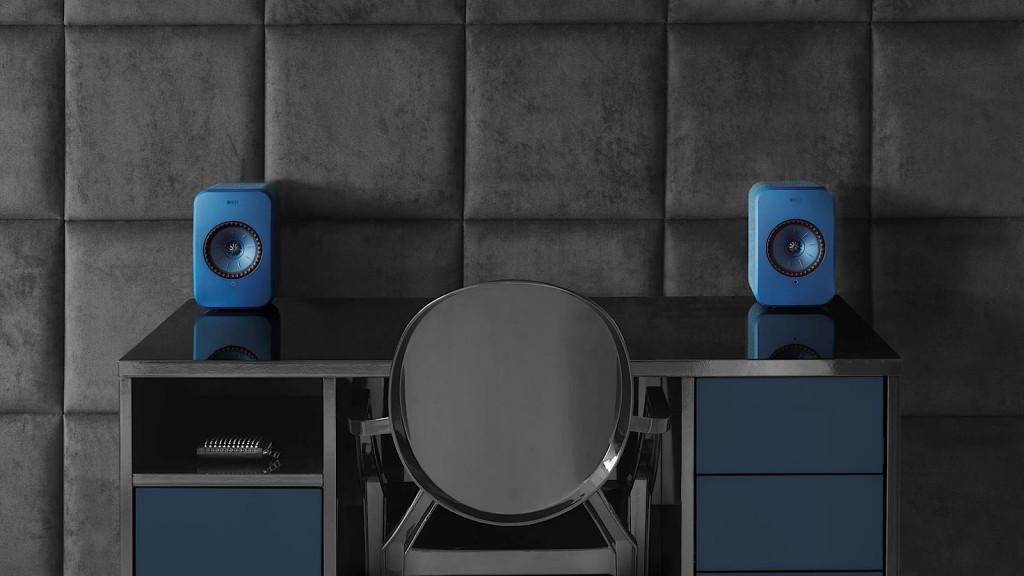 KEF LSX wireless speaker system