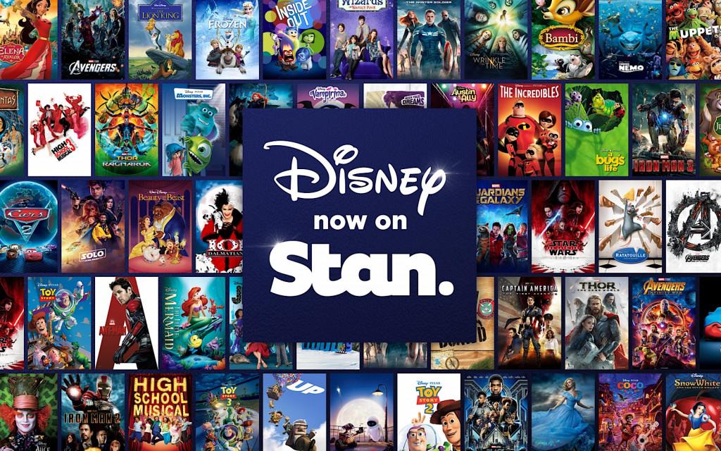 Disney on Stan