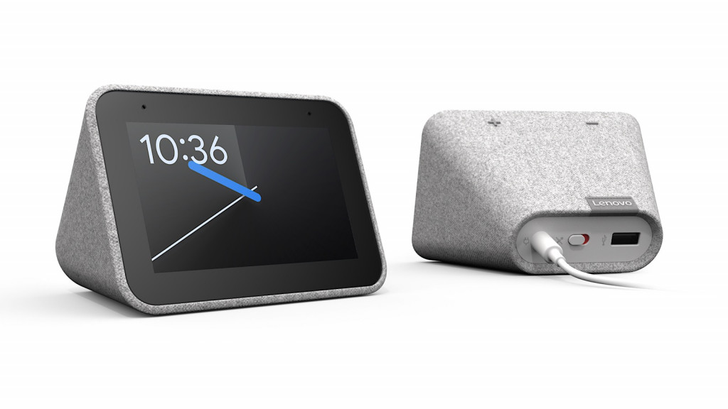 Lenovo's Smart Clock with Google Assistant