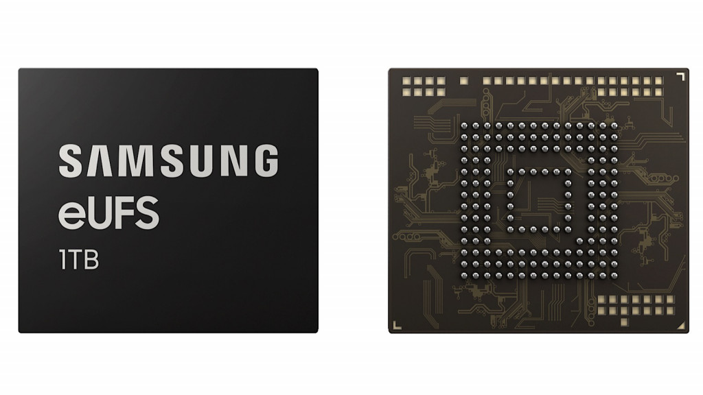 Samsung's 1TB eUFS chip for phones and tablets