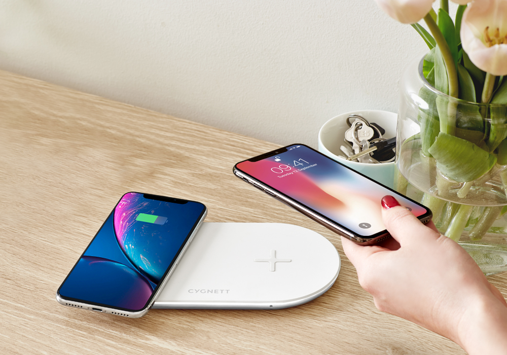 Cygnett Dual Wireless Charge pad