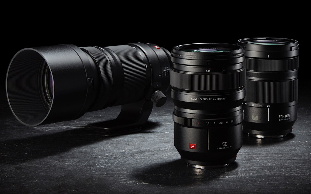 Panasonic's lenses for the S1 and S1R launch