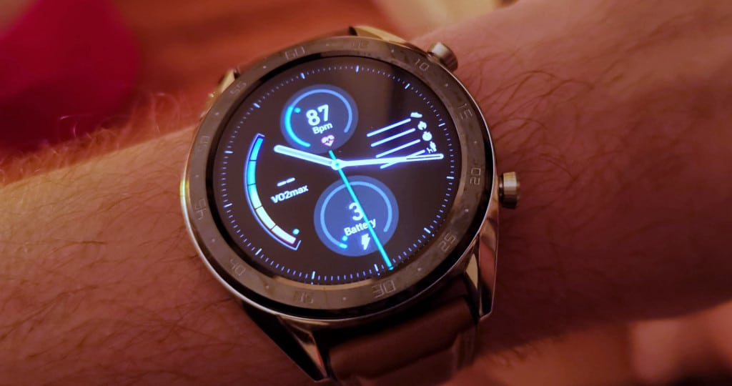 Huawei Watch GT's battery runs down to the very limit