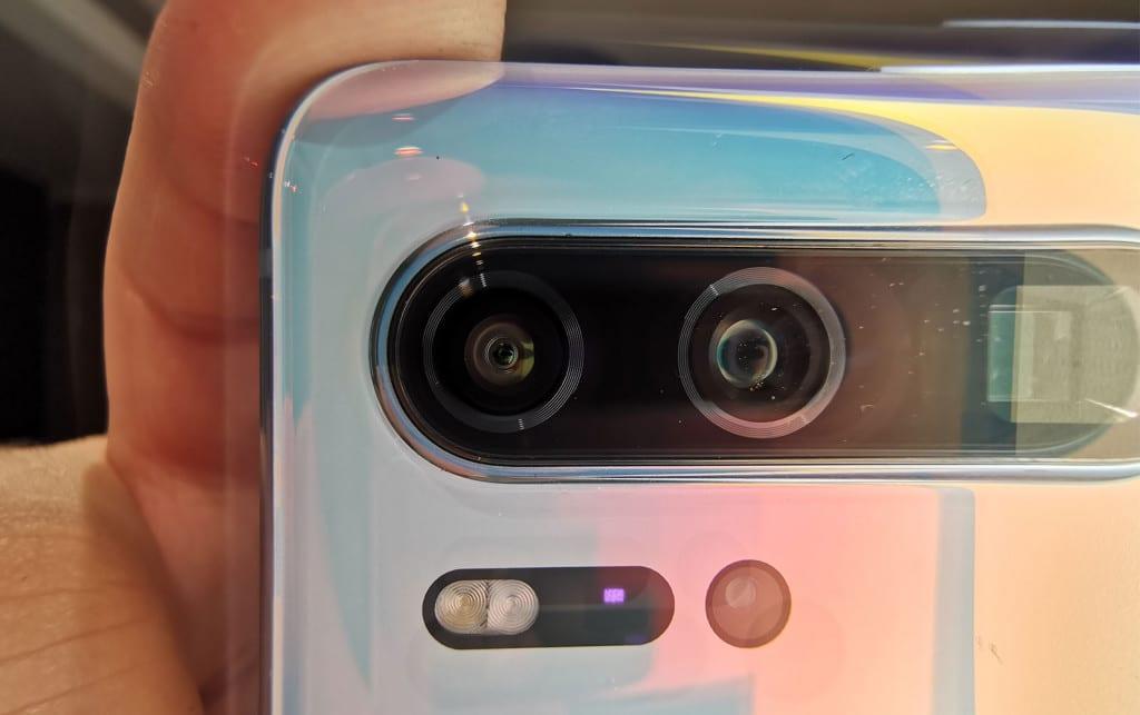 Huawei P30 Pro camera setup