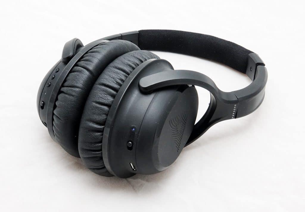 Audeara A-01 wireless noise cancelling headphones
