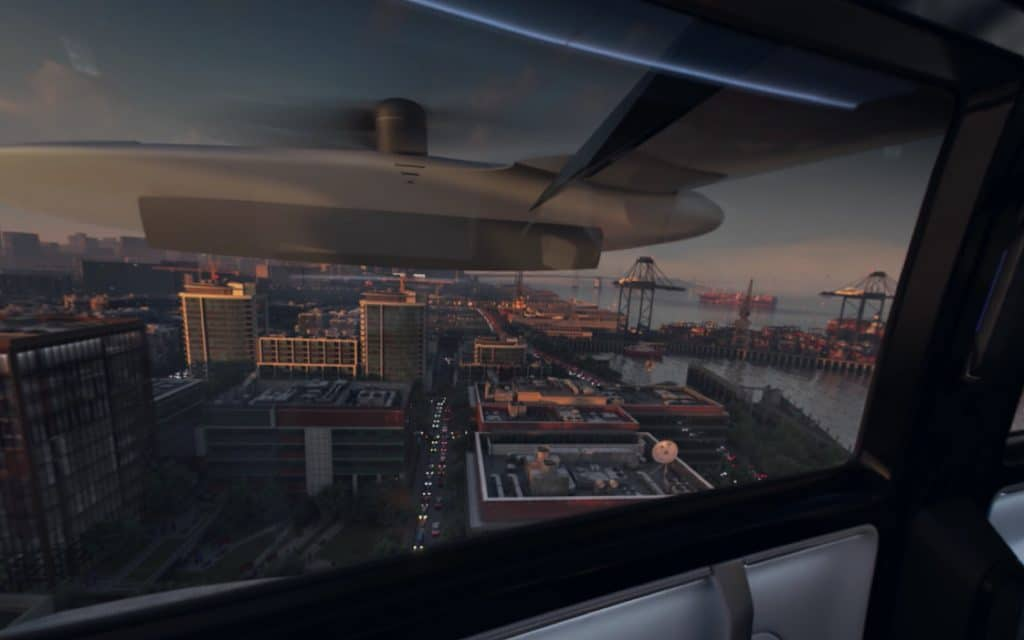 Inside a concept Uber Air vehicle