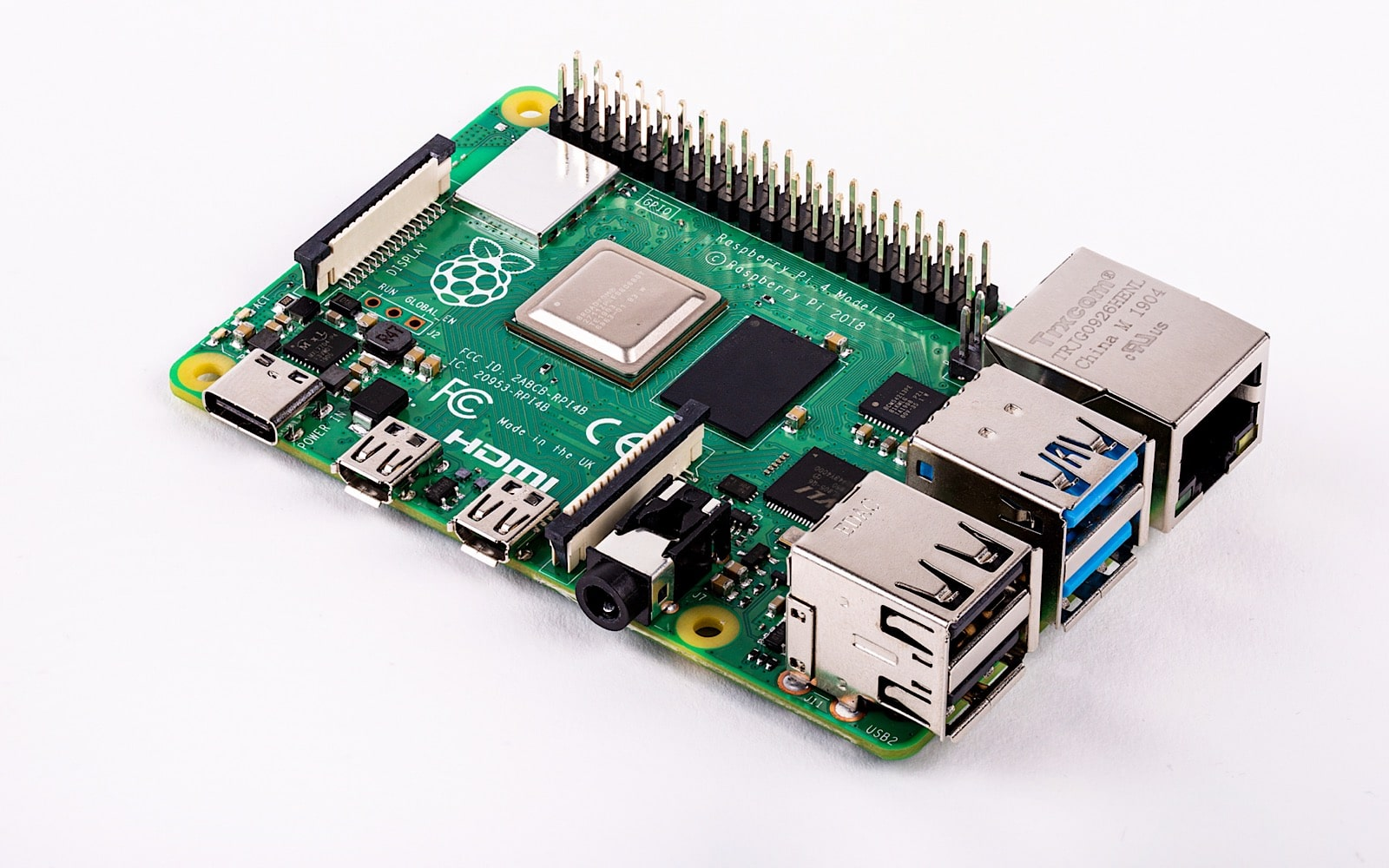 Raspberry Pi 4 Offers Big Performance Boost, More Features for Just $35