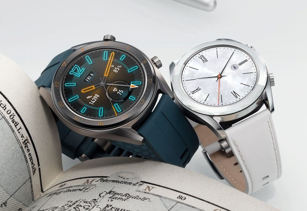 Huawei Watch GT Active and Huawei Watch GT Elegant