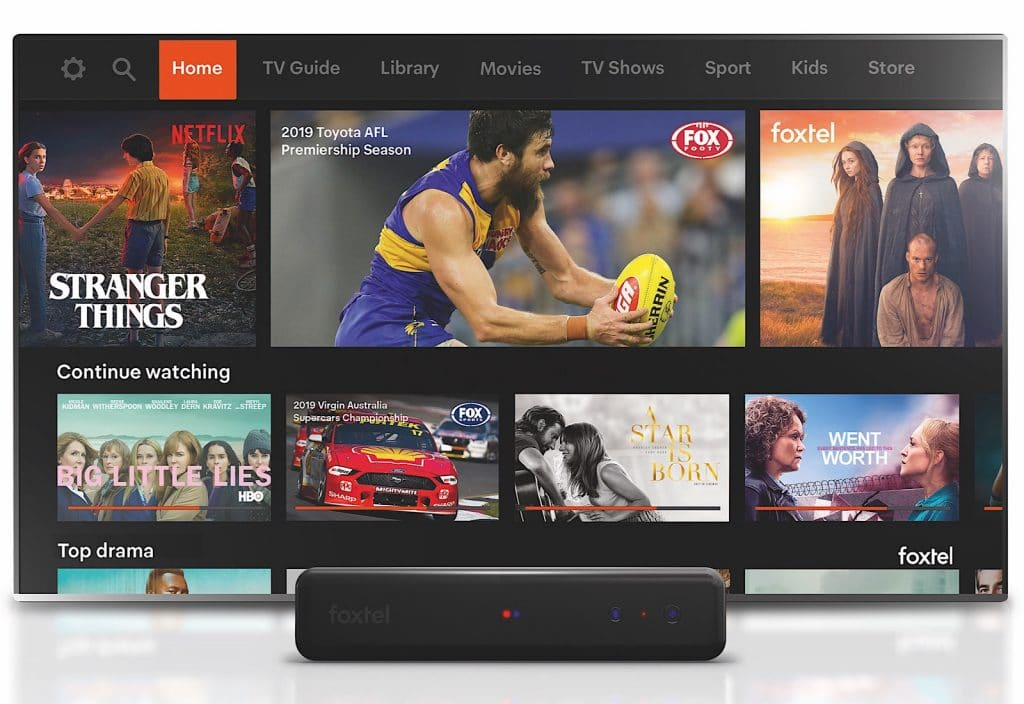 Foxtel and Netflix together at las