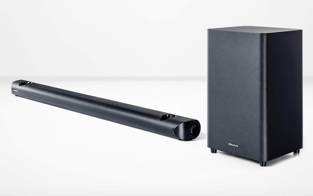 Hisense HS512 soundbar and wireless subwoofer