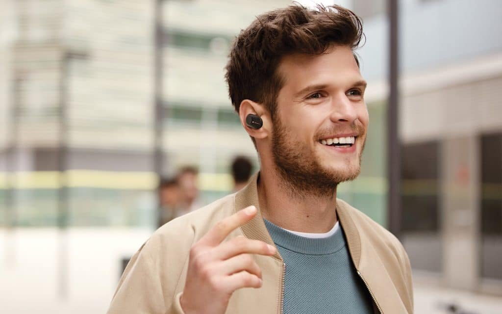 Sony WF-1000XM3 cordless and wireless noise-cancelling in-earphones (2019)