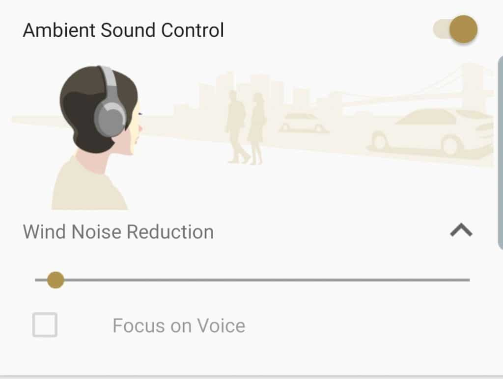 A Sony WH-1000XM3 update provides a noise reduction mode