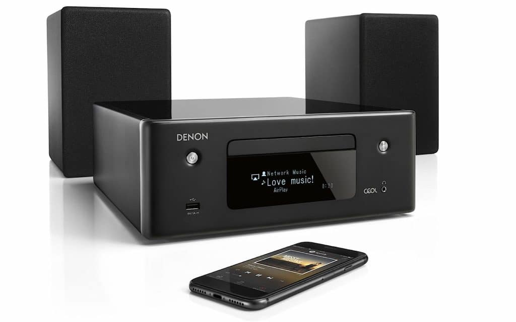 Denon CEOL N10 CD player with streaming and AirPlay