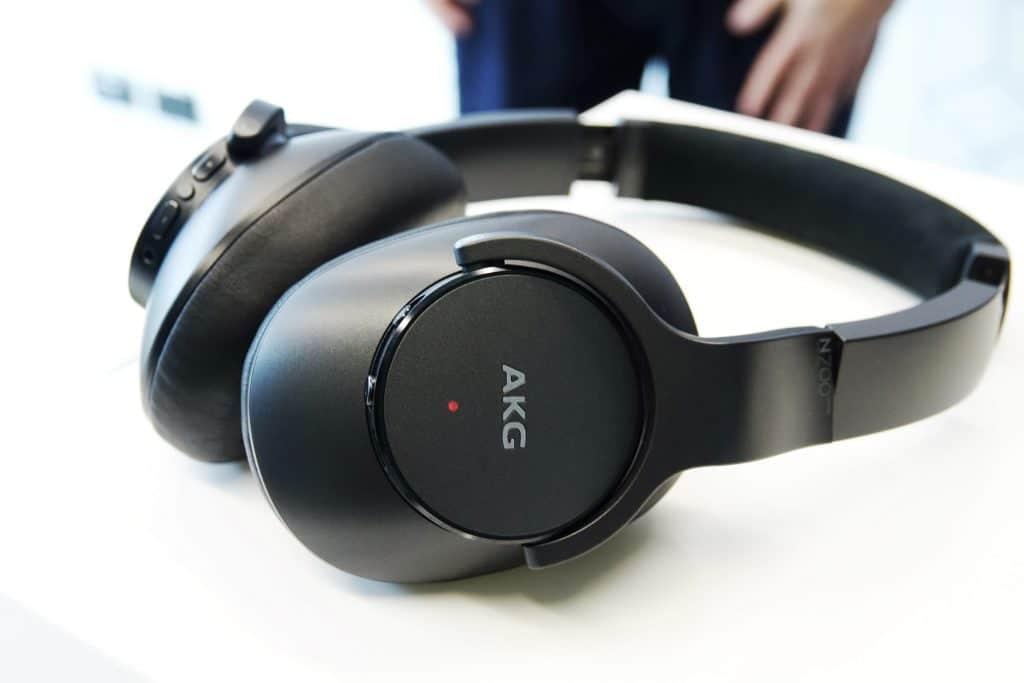 AKG N700 NCM2 wireless active noise cancellation headphones