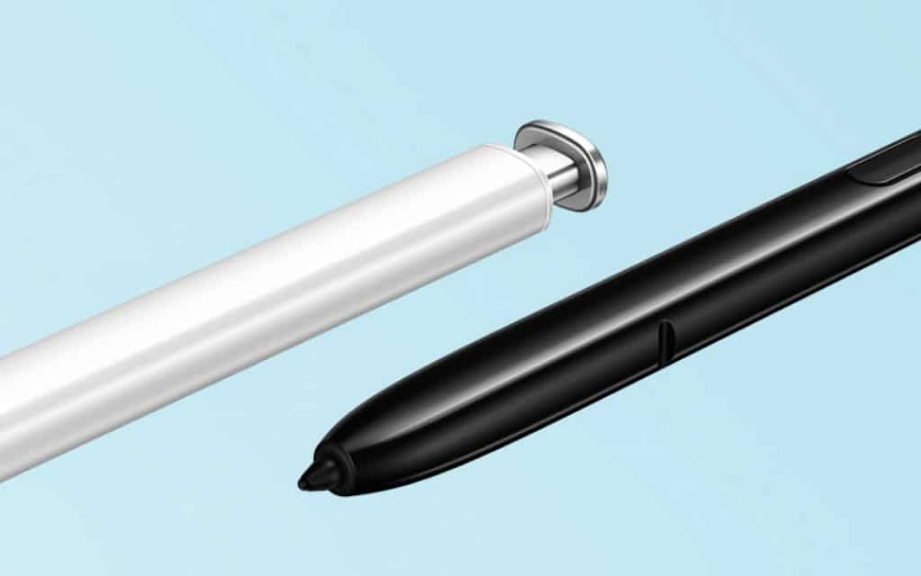 The S-Pen stylus of the Note 10 range