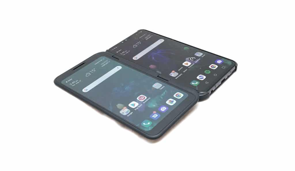 LG V50 with the Dual Screen accessory