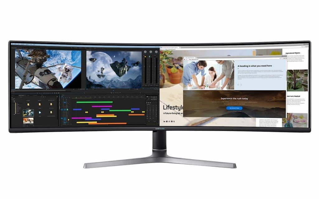 Samsung CRG9 QLED gaming monitor