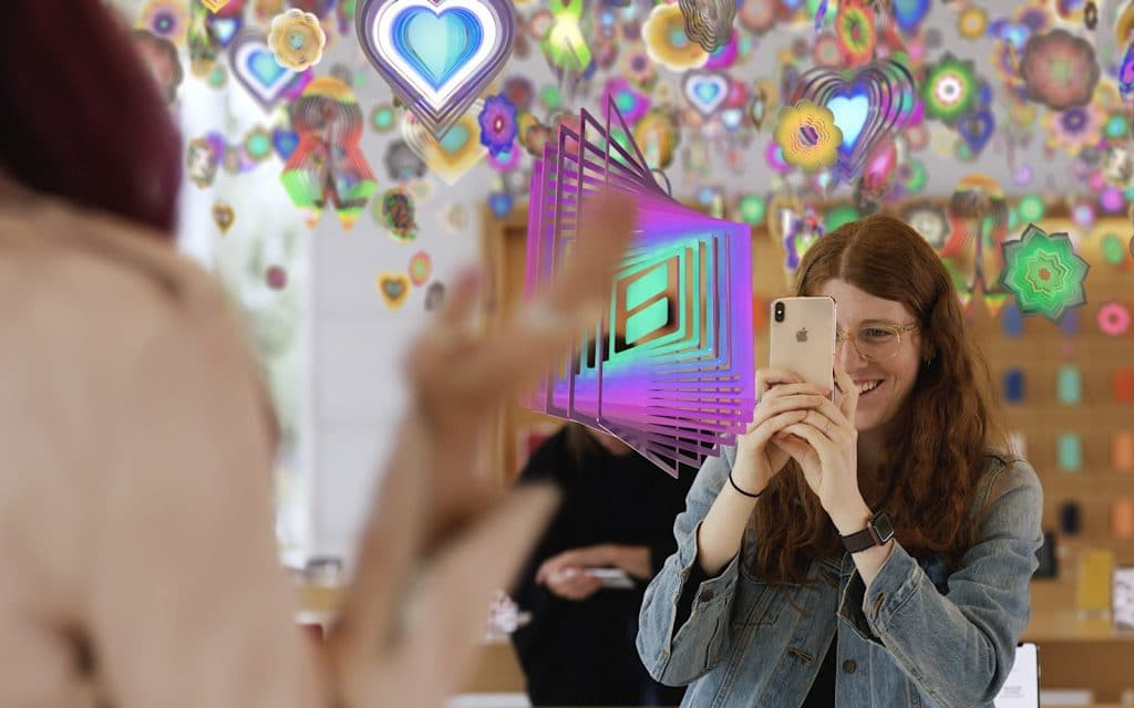 """Nick Cave's """"Amass"""" used in the [AR]T experience at Apple Stores"""