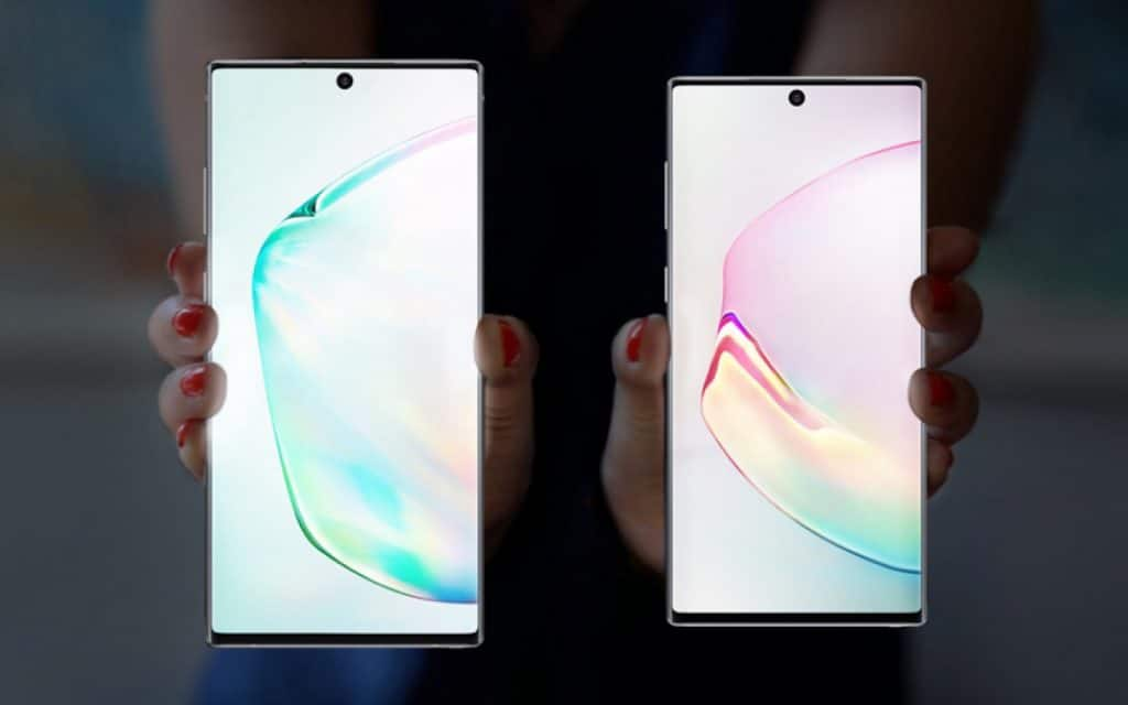 Samsung Galaxy Note10 and Galaxy Note10+