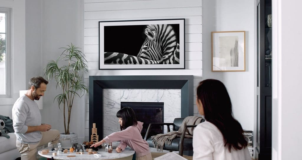 Samsung's The Frame with QLED
