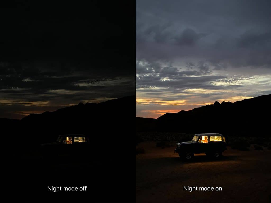 Apple's Night Mode as seen in the iPhone 11 Pro and iPhone 11 Pro Max