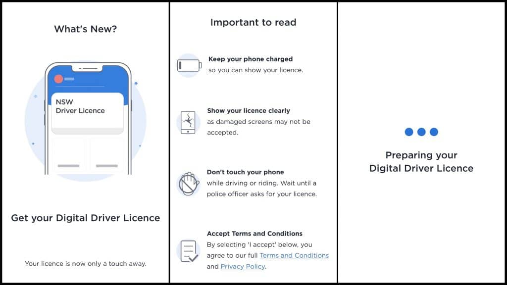 Service NSW Digital Driver License (DDL)