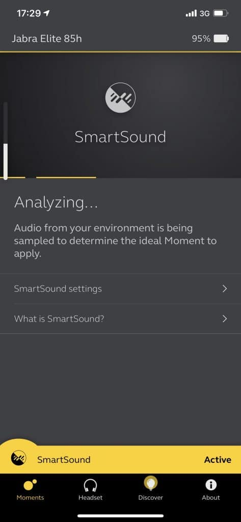 Jabra Elite 85h with SmartSound