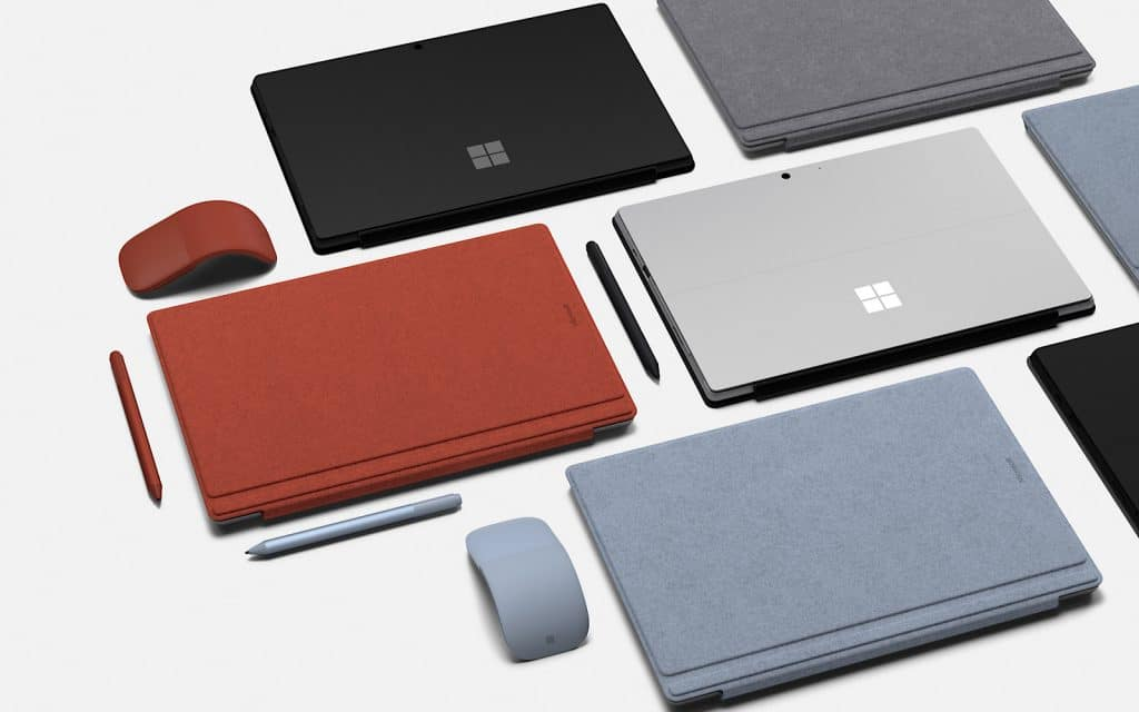 Microsoft Surface Pro lineup in 2019