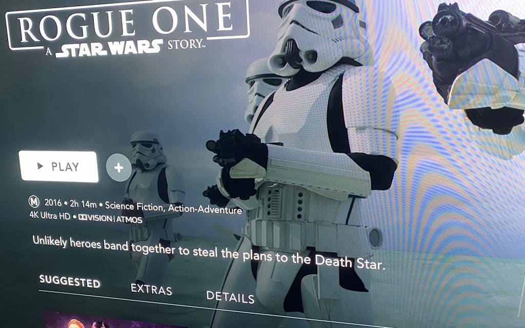 """""""Rogue One"""" in 4K on Disney+"""