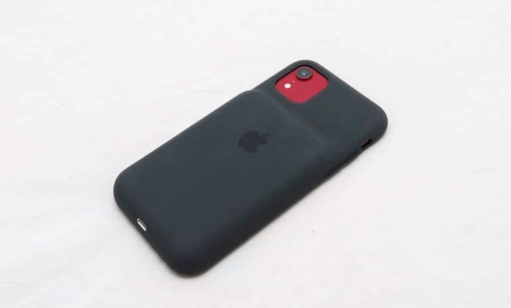 iPhone 11 Smart Battery case on the iPhone XR