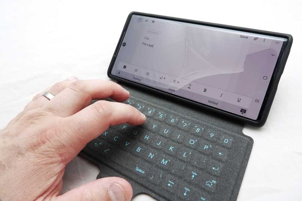 Tech21 Evo Type for Galaxy Note10+