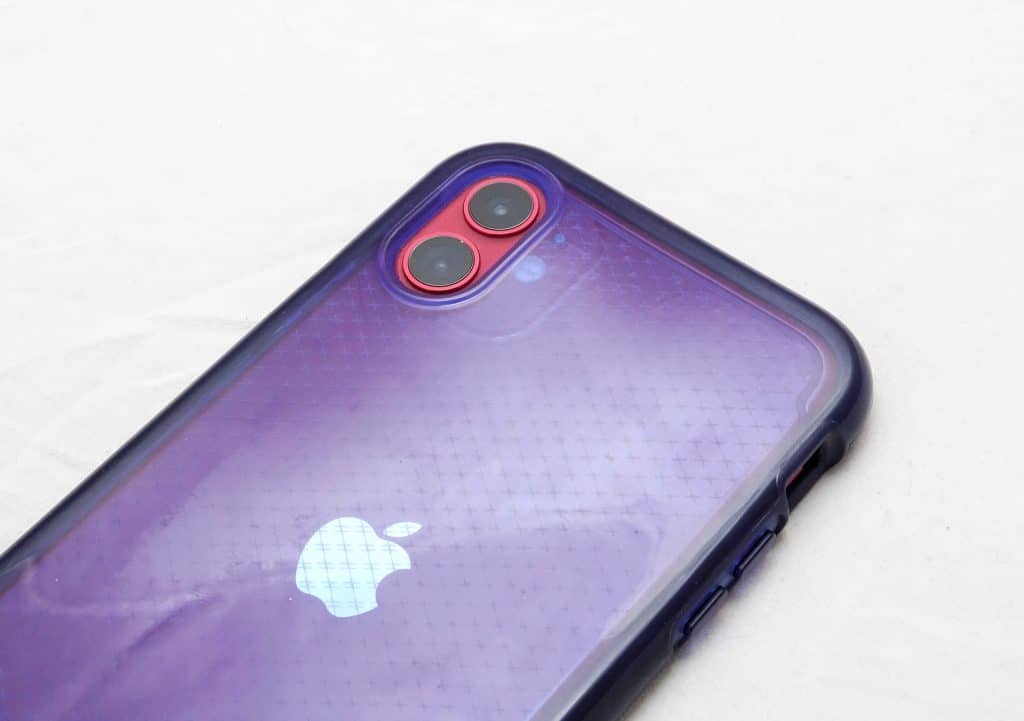 iPhone XR case on an iPhone 11
