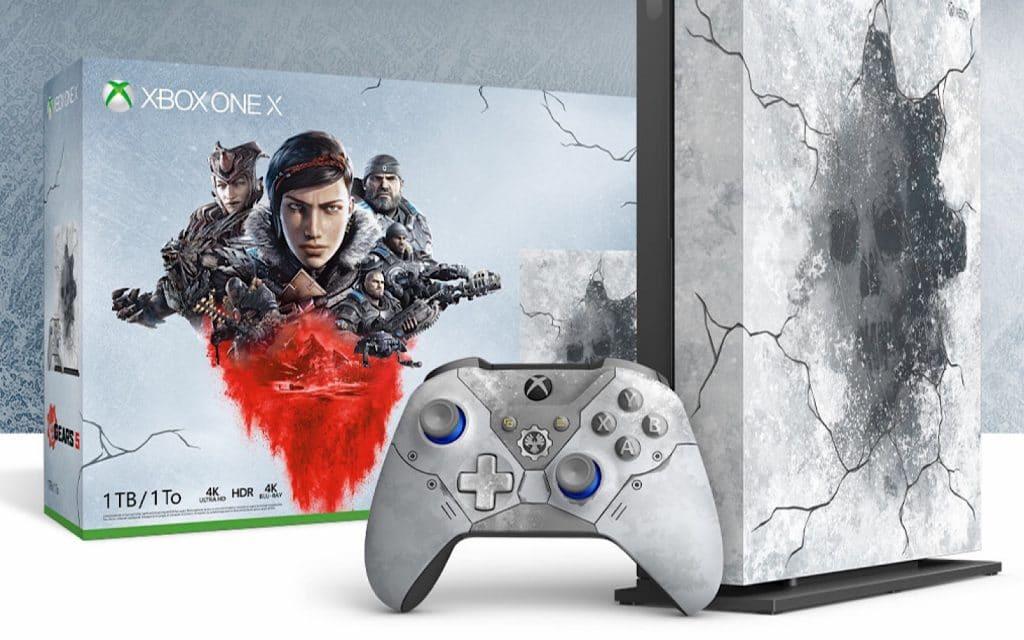 Microsoft Xbox One X Gear 5 edition