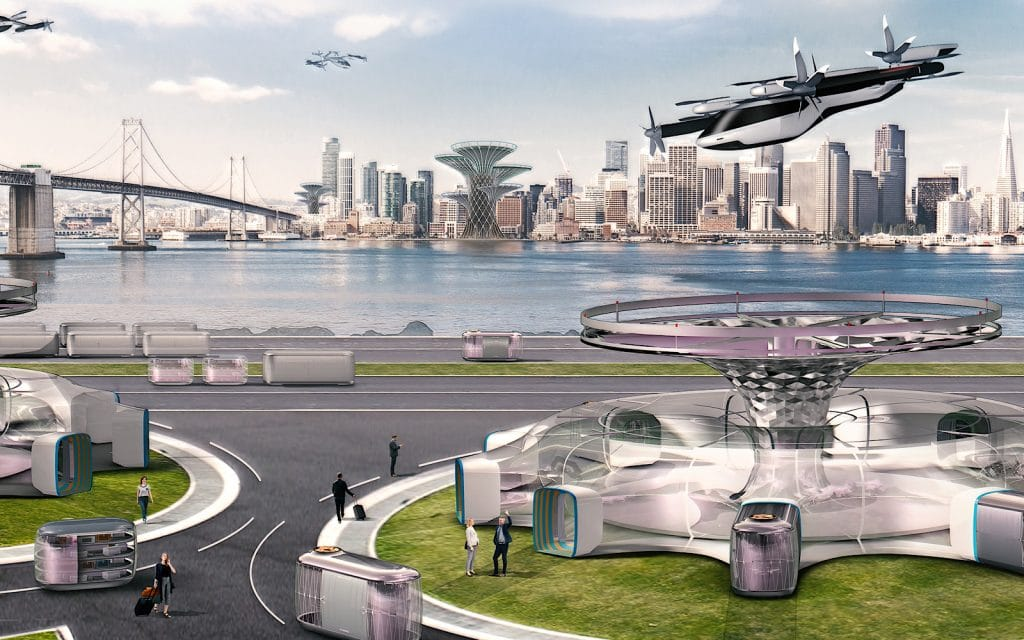 Uber Elevate / Uber Air (CES 2020)