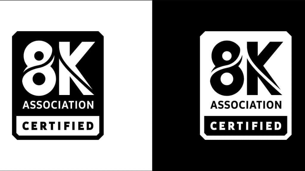 8K certification from the 8K Association