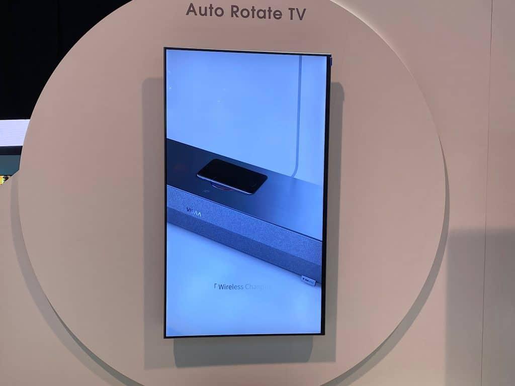 Hisense's vertical TV at CES 2020
