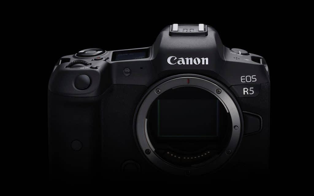 Canon EOS R5 8K camera
