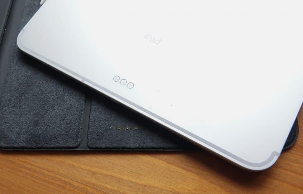 Apple iPad Pro 2018 in the 2020 iPad Pro Smart Keyboard Folio case