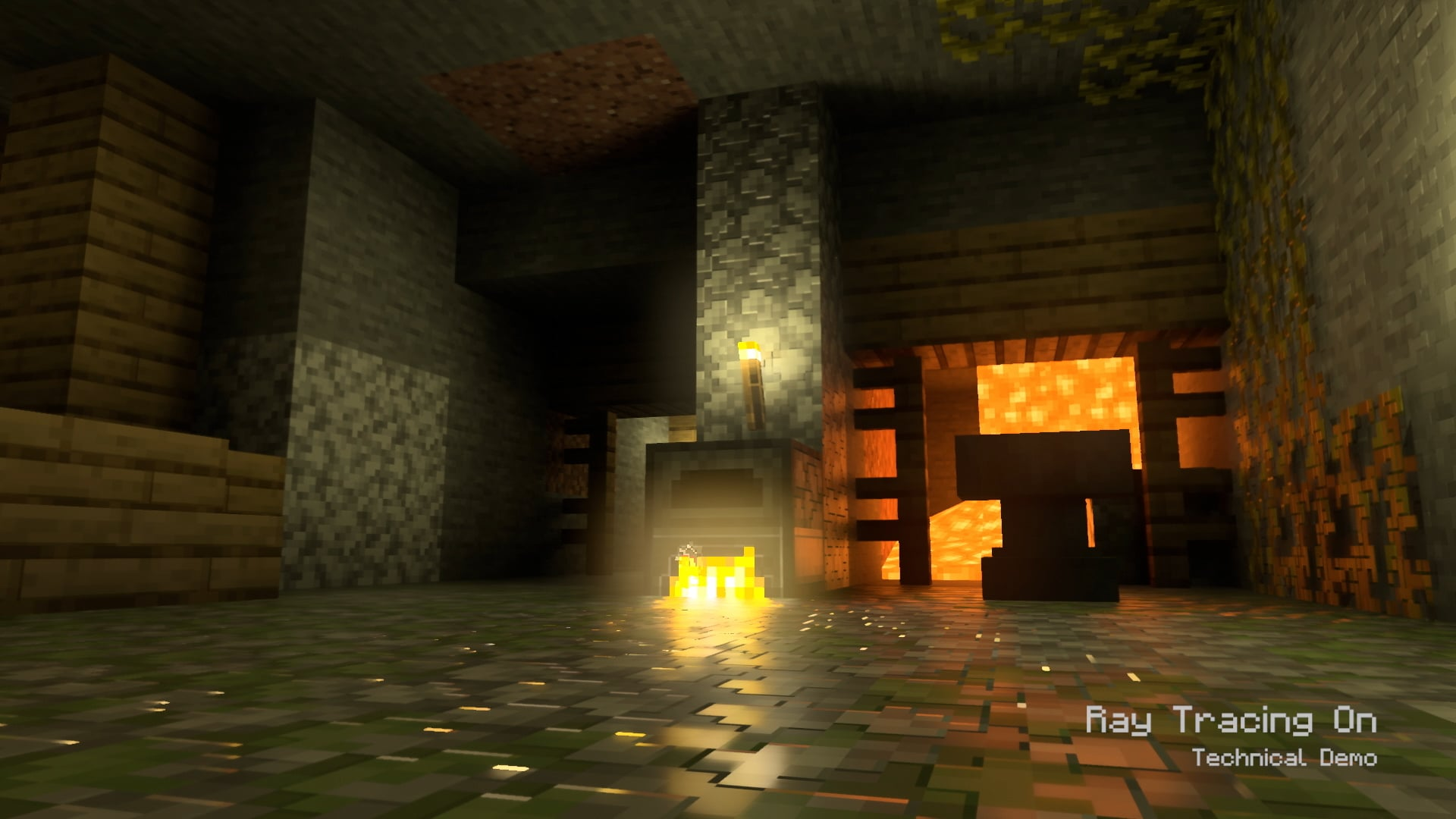 Xbox One Series X: Minecraft demo, raytracing on