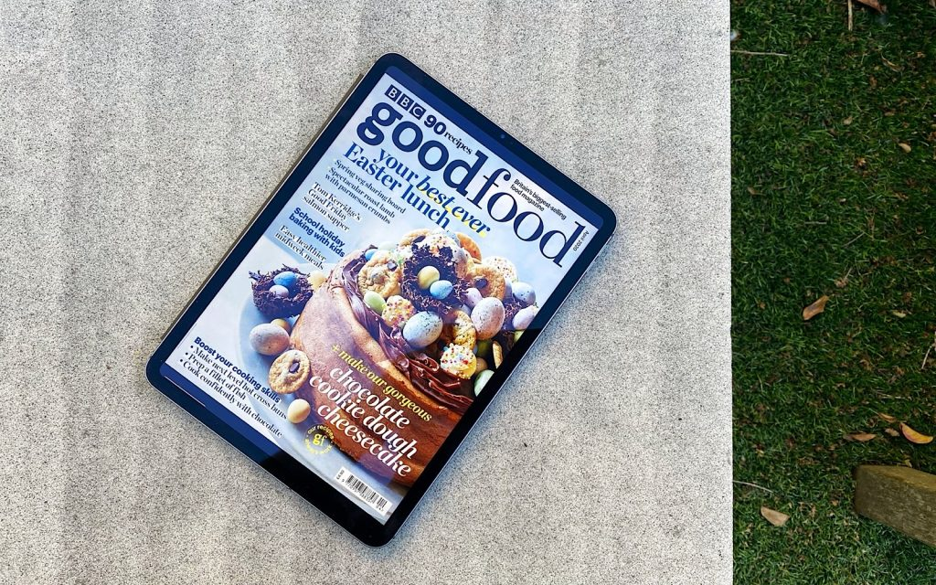 Readly on an iPad Pro with BBC Good Food