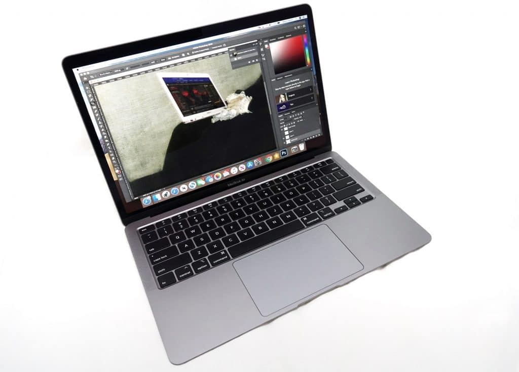 Using the MacBook Air for Photoshop
