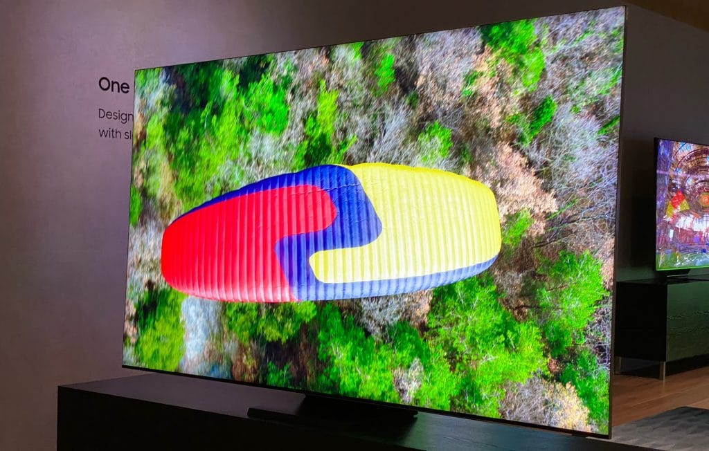 Samsung Q950T at CES 2020